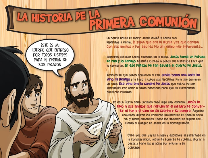 Historia de la primera comunión