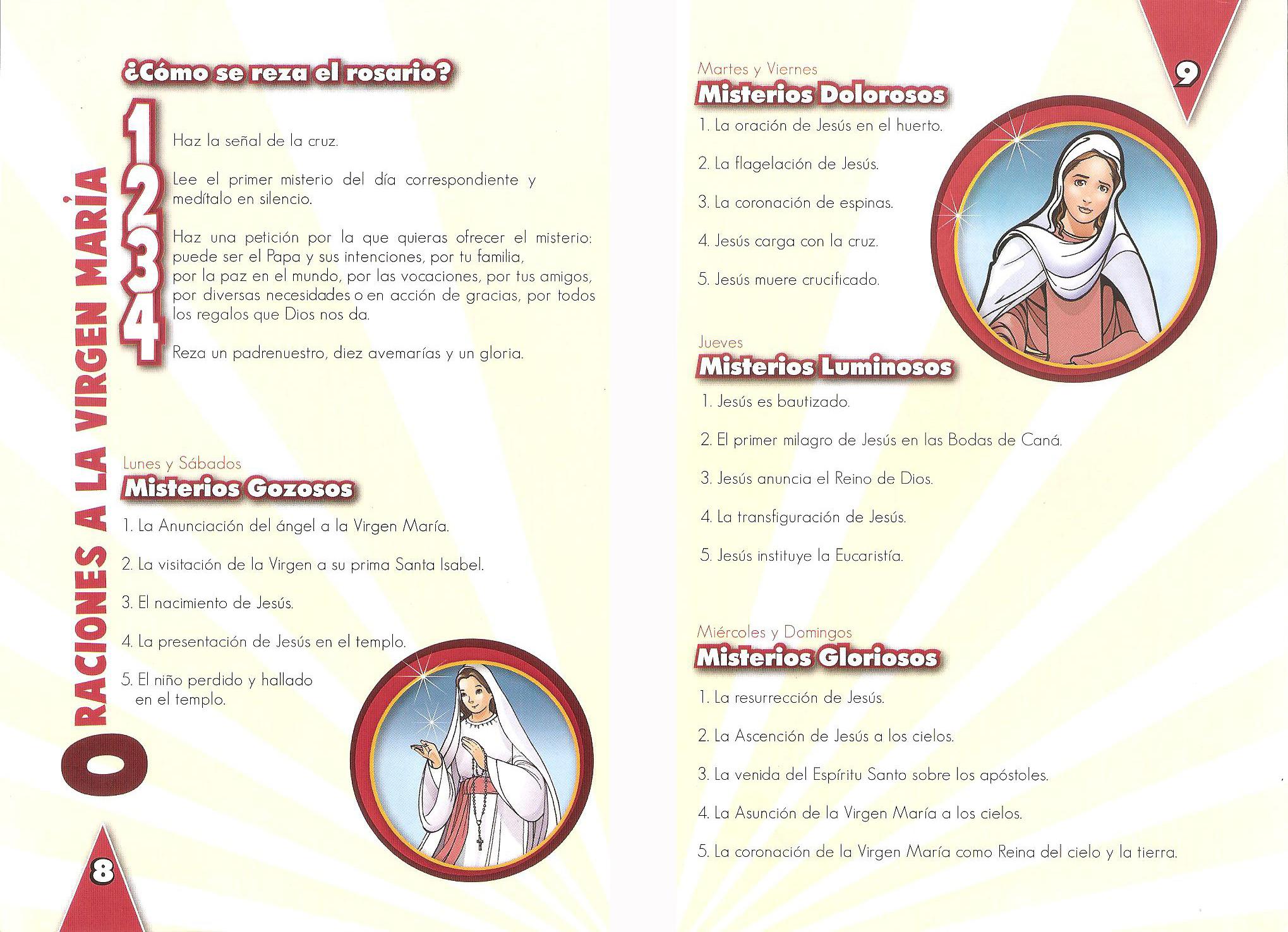 e- Oraciones a la Virgen María