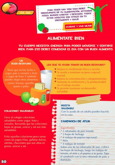 vida saludable con receta