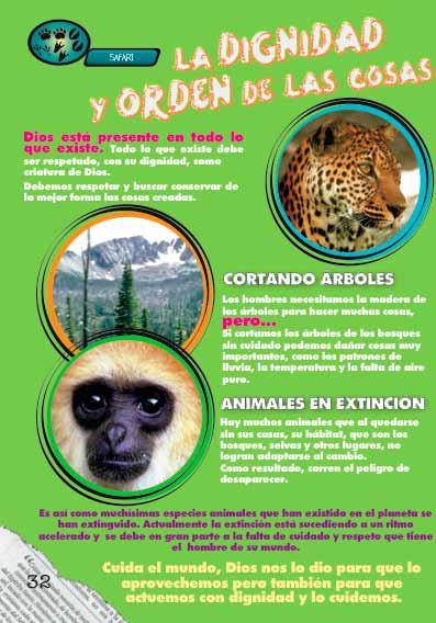 Animales y vegetacion
