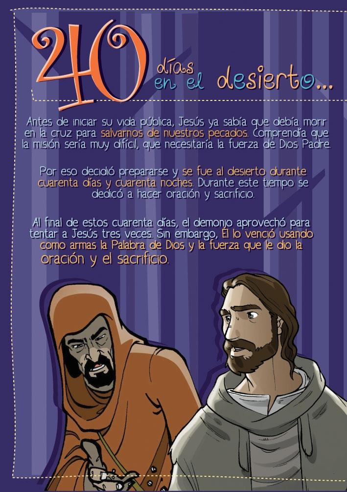 Los 40 dias de Jesus en el Desierto
